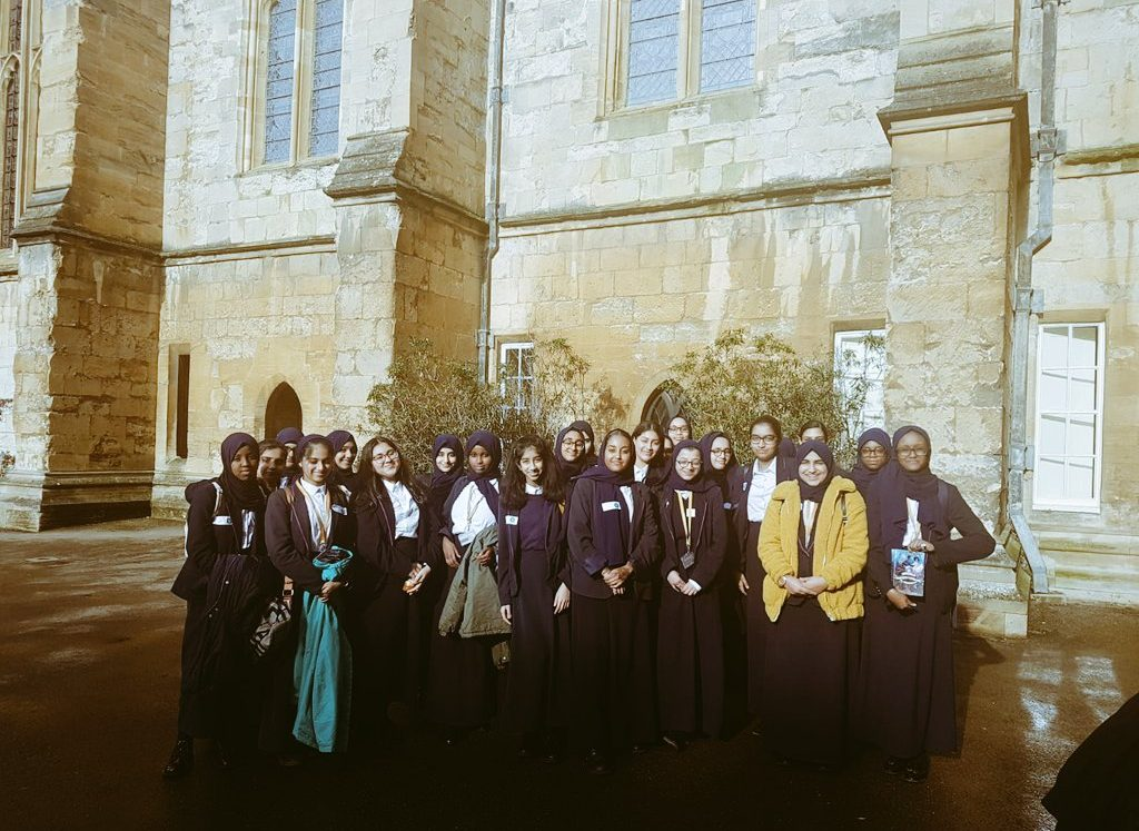Brilliant pupils visit dreaming spires of Oxford for university 'graduation' day