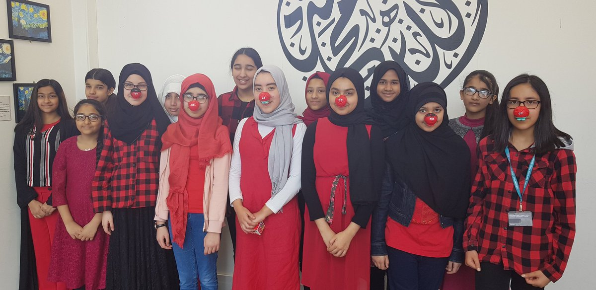 Pupils raise money for Comic Relief
